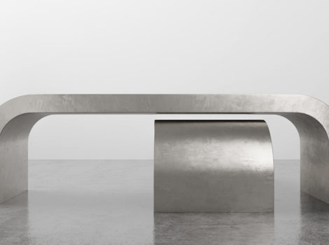 SHINE BY S.H.O.  waterfall coffee table