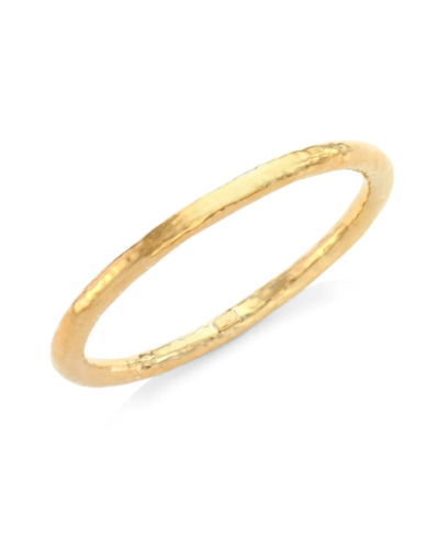 IPPOLITA  Classico Super Thick 18K Yellow Gold Hammered Bangle Bracelet  $1,795