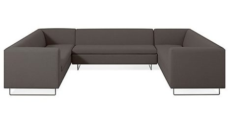 BLU DOT  bonnie and clyde u-shaped sectional