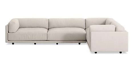 BLU DOT  sunday l sectional sofa