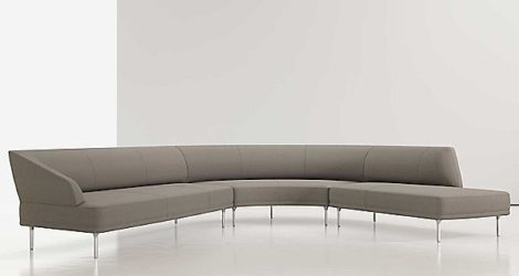 LIEVORE ALTHERR MOLINA, FROM BERNHARDT DESIGN  mirador u-shaped sectional
