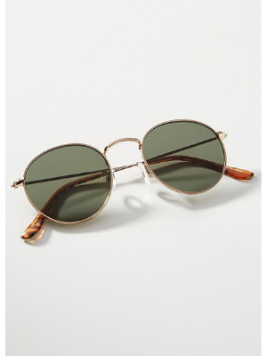 ANTHROPOLOGIE  zoey round sunglasses  $38
