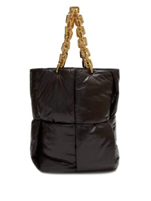 BOTTEGA VENETA  Chain-handle quilted leather tote bag  SOLD OUT