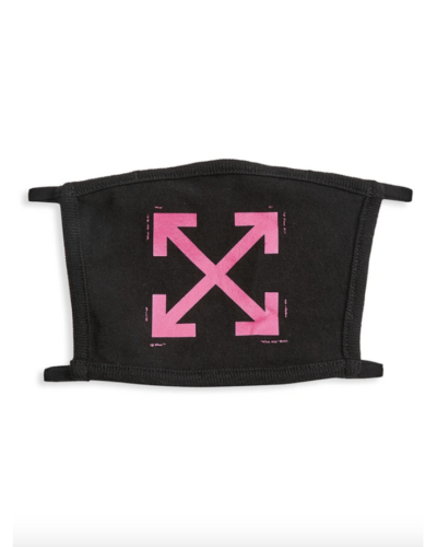 OFF-WHITE  iconic arrow face mask  $105