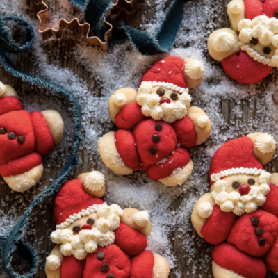 Holly Jolly Santa Cookie